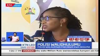 KNHCR yatoa ripoti kuhusu dhuluma za polisi kwa ghasia zilioibuka baada ya uchaguzi