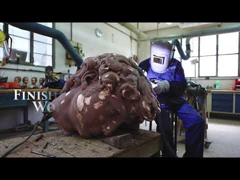 FONDERIA D'ARTE MASSIMO DEL CHIARO - video of bronze fusion, April 2019