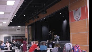 Tryouts A Success for Union 8th Grade Musical