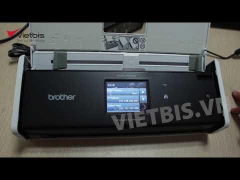 Hướng dẫn kết nối Wifi ổn định cho máy scan cầm tay Brother ADS-1500W/ 1600W