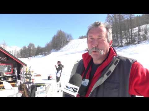 Reportage ski en famille à Serre-Eyraud