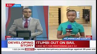 Developing: Itumbi freed on Kshs, 100,000 Cash Bail as case set for mentioning on July 22nd