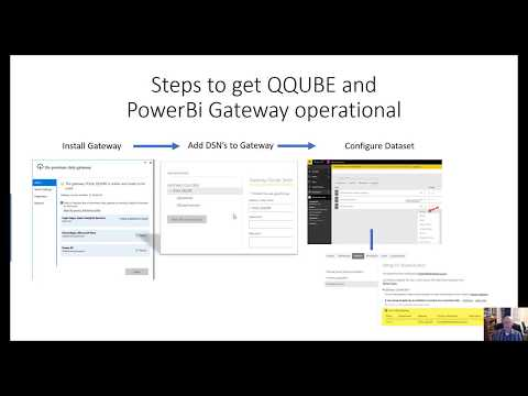 Power BI Gateway Configuration for QQube 6.x