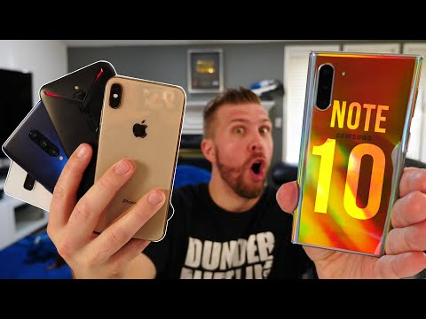 Galaxy Note 10 Plus vs iPhone XS Max, S10 Plus, OnePlus 7 Pro, Zenfone 6, ROG Phone 2, Red Magic 3