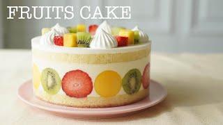 How to Make Fruits Cake.