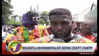 TVJ News Today: Residents & Environmentalists Defend Cockpit Country - July 22 2019