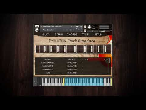 Video for Evolution Rock Standard - Factory Preset Walkthrough