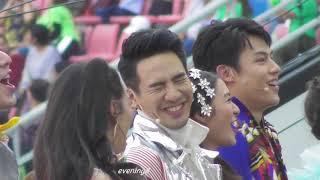 02-03-62 Fancam พี่โป๊ปแสดงช่วงเดินพาเหรด(2) @49ปีช่อง3งานวัดคาร์นิว้าว