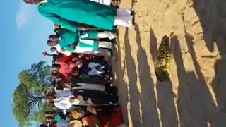 Prophets catch huge snake at cleansing ceremony