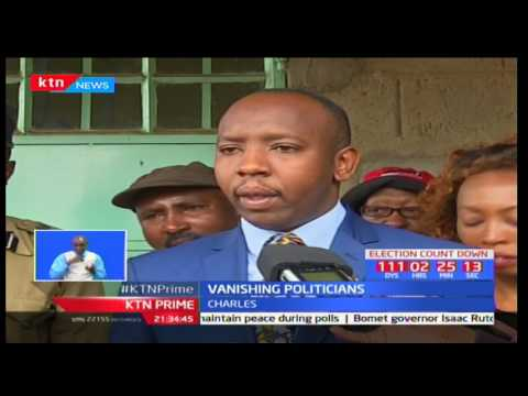 Controversial Kabete MP aspirant Charles Chege says he did not stage-manage his dissapearance