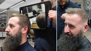 The Best Haircut & Products For Thinning Hair On Top To Look Thicker Men