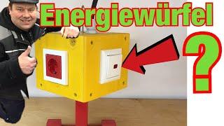 Energiewürfel DELUXE selber bauen! Mit EXTRA Funktion! Das brauchst du !