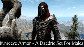 Skyrim Special Edition: ▶️Kynreeve Armor - A Daedric Set For Males◀️ Mini Mod Showcase