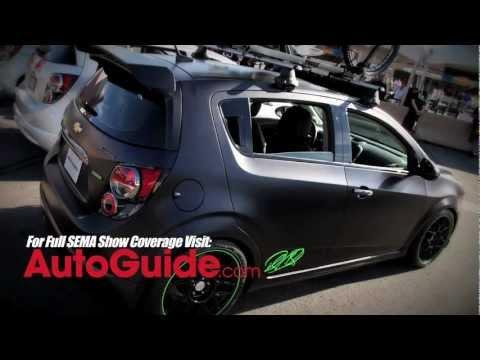Ricky Carmichael Chevrolet Sonic Concept - SEMA Show 2011