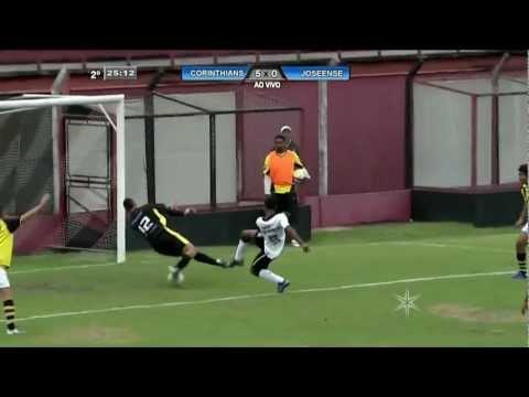 Corinthians sub17 mete 6x0 no Joseense