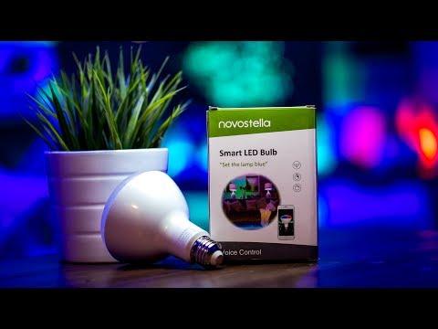 Philips Hue & LIFX KILLER??? – Affordable Smart Bulbs  |  Novostella Wifi Smart LED Bulb Review