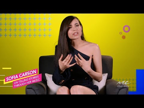Sofia Carson Tells Stories Through Her Music
