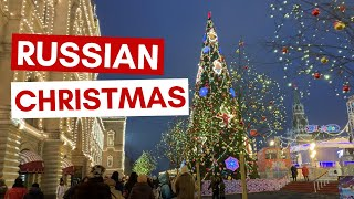 Russian Christmas is DIFFERENT to Western Christmas