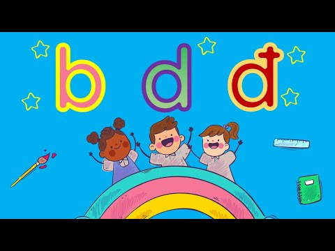 LQCV: Bé làm quen chữ b,d,đ