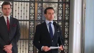 """Rządowa """"Tarcza"""" jest betonowym kołem ratunkowym – Krzysztof Bosak, Jakub Kulesza"""