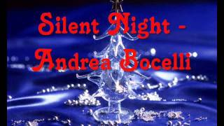 Silent Night   Andrea Bocelli