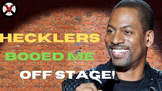 """Tony Rock Recalls Crazy Heckler Story! """"They Booed Me SMOOTH Off Stage!"""""""