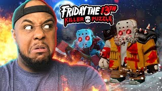 JASON IS BACK!! | Friday The 13th: Killer Puzzle [#2]