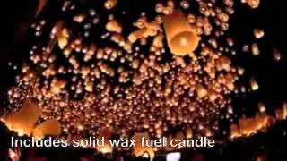 Light and Release Wishing Lantern