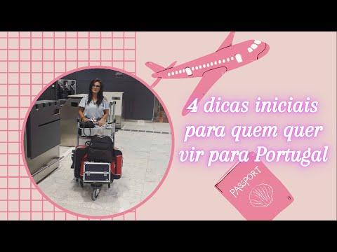 4 dicas iniciais para quem quer vir para Portugal 2021