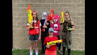 Nerf Fortnite In Real Life 3 Squads