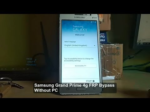Bypass Google Account Lock on any Samsung phone (FRP Bypass) Grand