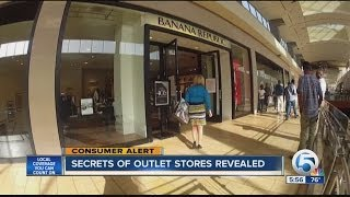 Secrets of outlet stores revealed