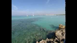 preview picture of video 'Playa de Ses Covetes'