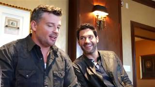 Lucifer [S.03] | MUSE TV Interview w/ Tom Welling & Tom Ellis