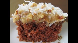 easy coconut pecan frosting german chocolate cake