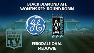 2018 Black Diamond AFL - Women's Rep Round Robin | Kholo.pk