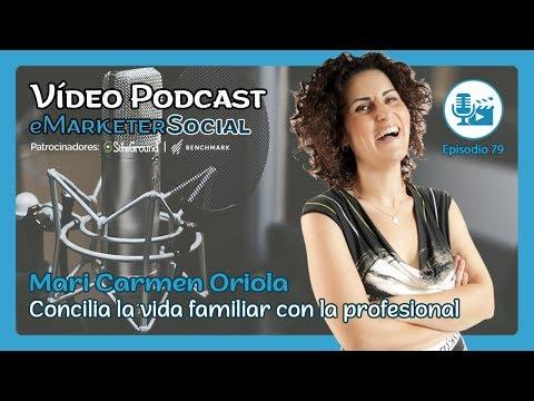 Charla Entrevista a Mari Carmen Oriola ️Diseñadora Integral 078 Vídeopodcast MarketerSocia…
