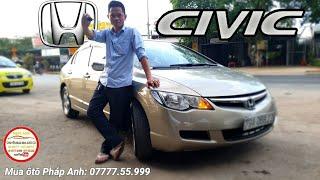 Chi tiết HONDA CIVIC 2008 xe đẹp tại Sài Gòn zin nguyên Aloo: xe đã bán