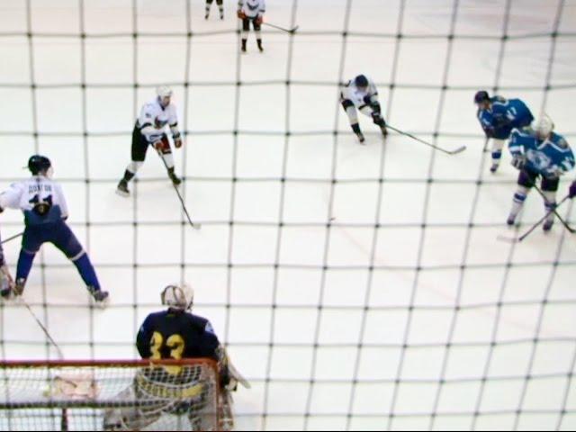 Любители играют в хоккей не хуже мастеров