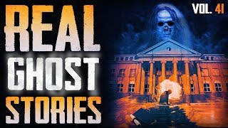 MY COLLEGE POLTERGEIST   11 True Scary Paranormal Ghost Horror Stories (Vol. 41)