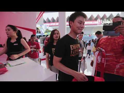 Blibli Indonesia Open 2019 - Booth Merchandise