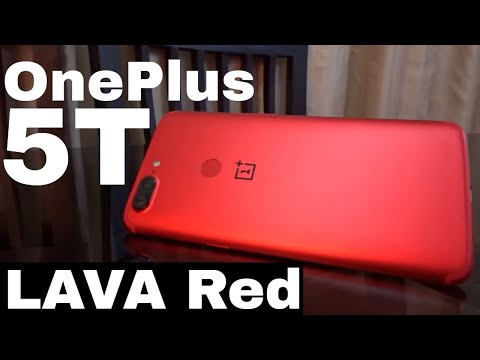 OnePlus 5T Lava RED Unboxing - Perfect Gift for Valentine's day