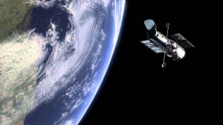 preview picture of video 'Hubble and the Earth'