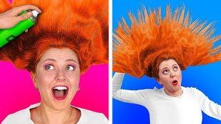 РЕШАЮЩИЙ ЧЕЛЛЕНДЖ «100 СЛОЕВ»    100 слоев лака для волос    Все в 100 слоев от 123 GO! CHALLENGE