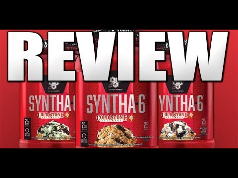 BSN Syntha-6 + Cold Stone Creamery Review   NAILED IT!