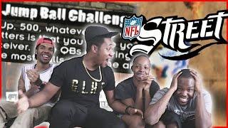 HILARIOUS 4 WAY JUMP BALL CHALLENGE! - NFL Street 3 Gameplay