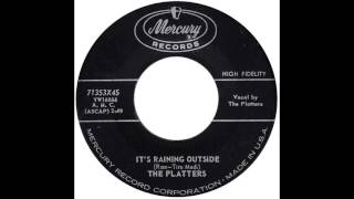 "Platters – ""It's Raining Outside"" (""Chove lá Fora"") (Mercury) 1958"