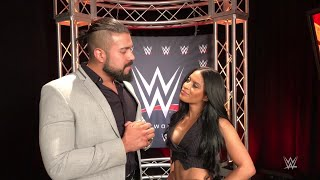 """Andrade """"Cien"""" Almas & Zelina Vega are ready to turn heads in their SmackDown LIVE debut"""