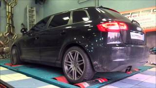 preview picture of video 'Reprogrammation moteur Audi A3 8P 1.9TDI 105'