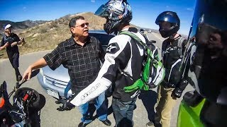 POLICE vs BIKERS | COP RESPONDS ON HIT & RUN INCIDENT |   [Episode 107]